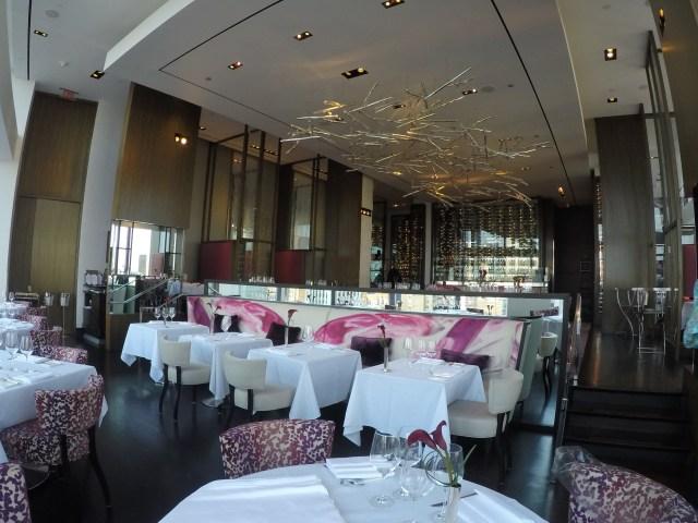 Decor Restaurant Asiate New York