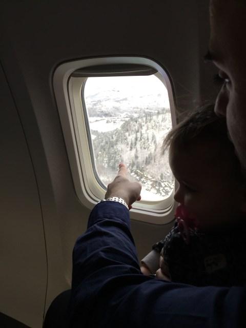 Landing in Trondheim