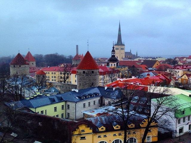 Tallinn não é linda?