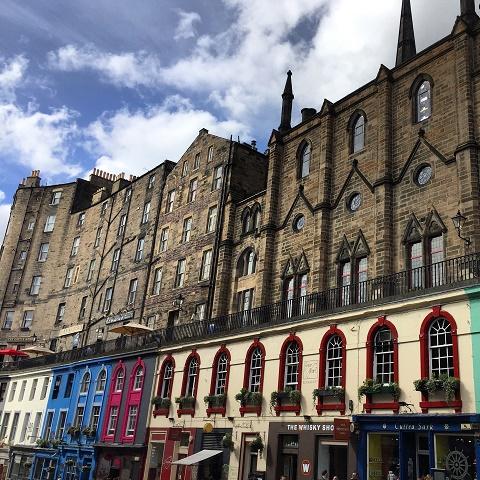 Viajar para Edimburgo