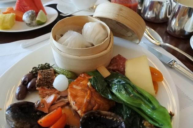 Café da manhã - Hotel Mandarin Oriental Hong Kong