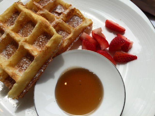 Café da manhã - Mandarin Oriental Macau 1