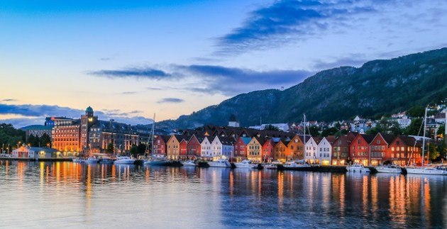 Bryggen with Boats