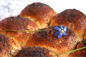 Brytbröd med russin och aprikos