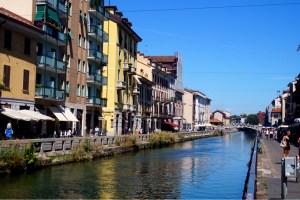 Milano - Navigli - Lake Idroscale