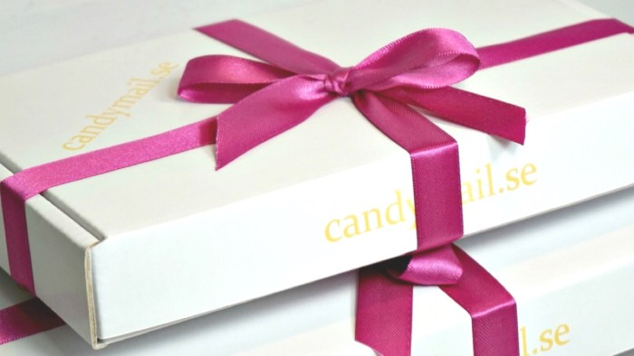 Skicka choklad på farsdag med candymail.se