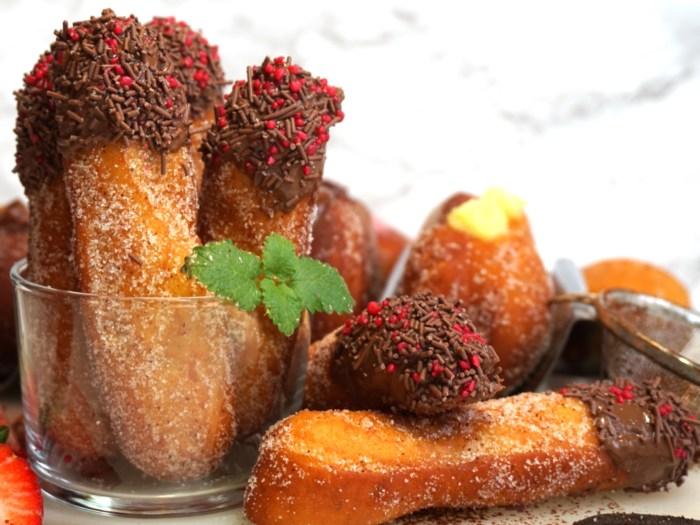 Finger donuts