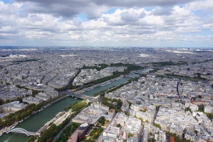 Paris & Besök i Eiffeltornet dag 37 Roadtrip 2018