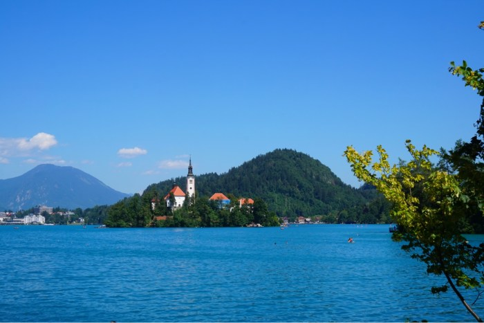 Lake Bled- Vackra Bled sjön i Slovenien- Roadtrip