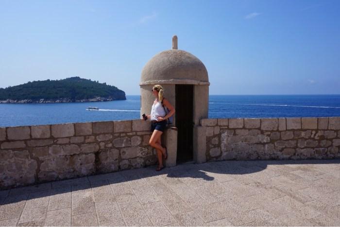 Dubrovnik, båttaxi, muren och gamla stan- Roadtrip