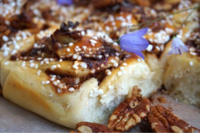 Nutellabullar med karamelliserade nötter