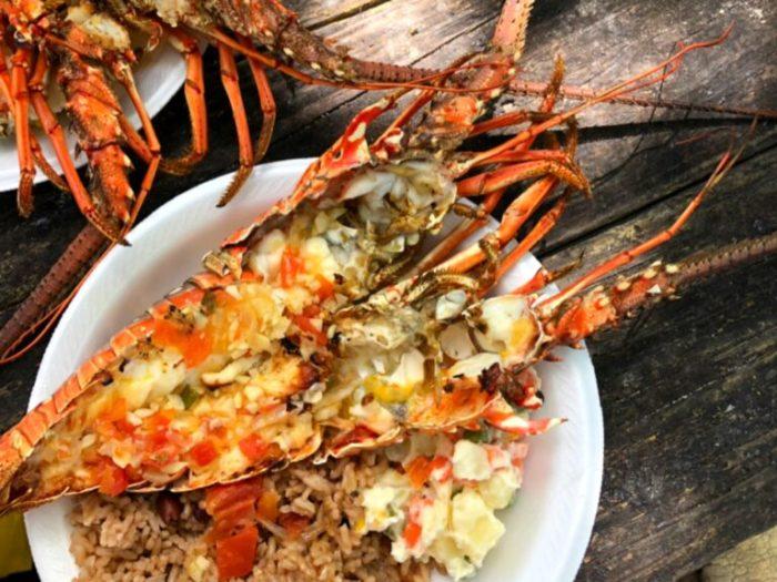 Jamaica- stranden, katamaran, snorkling och Bobby cay island