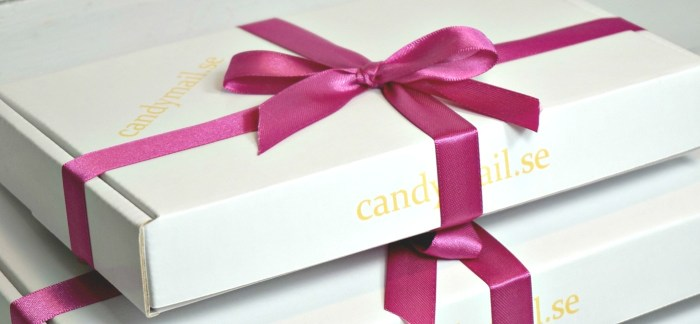 Skicka candymail till Alla hjärtans dag