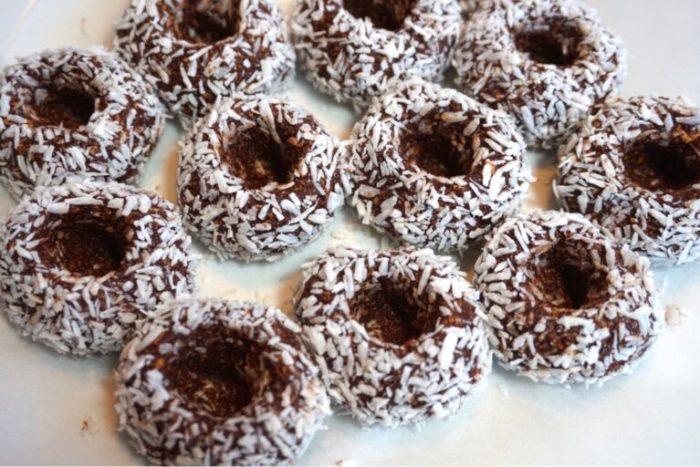 Chokladbollar dulce de leche