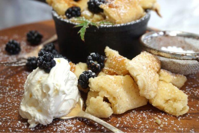 Pulled pancake
