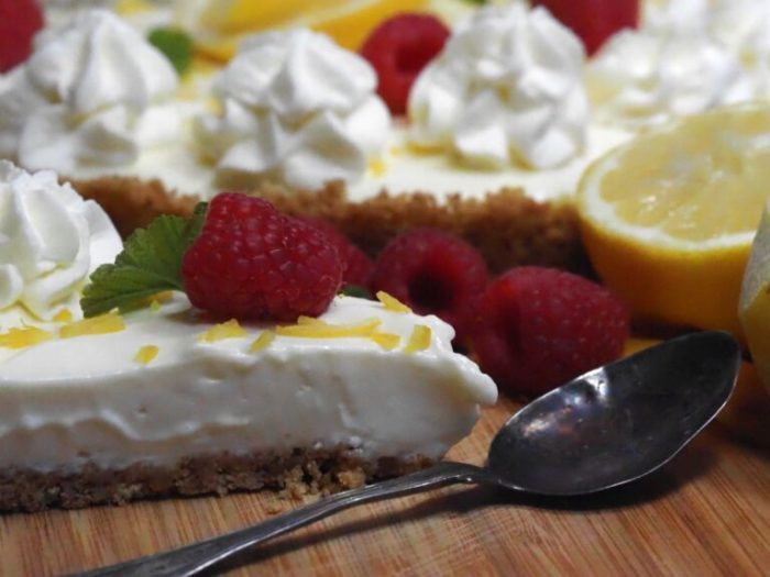 Citron cheesecake