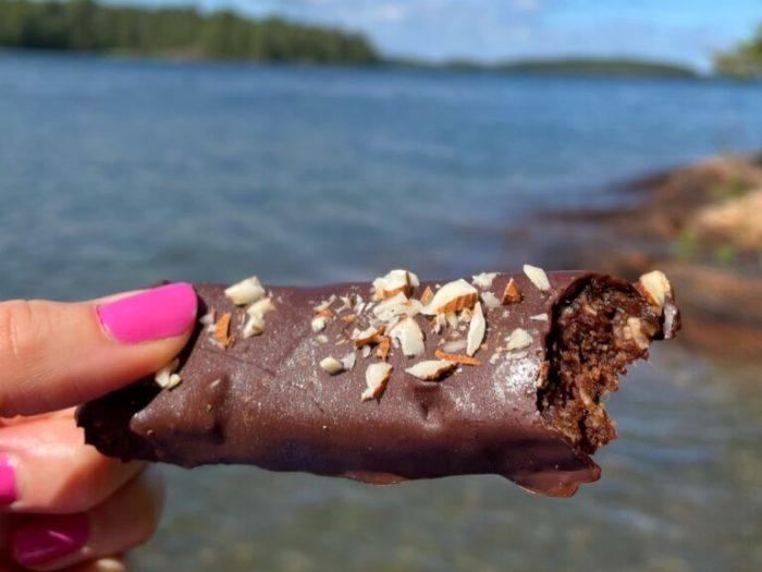 Krämiga chokladbars