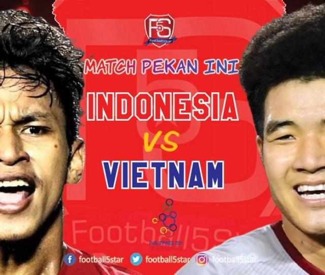 Prediksi Sea Games  Timnas U  Indonesia Vs Vietnam