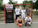 Ekipa 1: Korać, Đurić, Gagić (stoje), Starčević, Đorović (čuče)