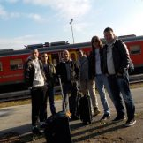 Studenti polaznici obuke: Lazar Lazić, Luka Terzović, Zlatan Pišpecki, Đorđe Đurđević, Miloš Lukić, Stefan Trninić