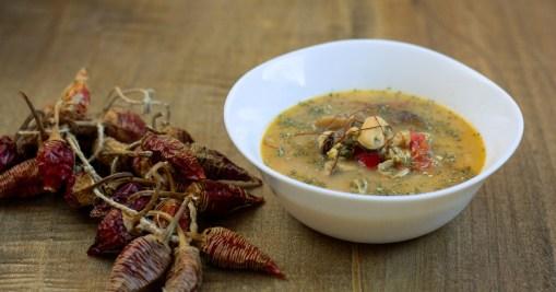 Thai supa s kokosovim mlekom