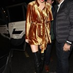 Celebrity Fashion Trend Velvet British Vogue