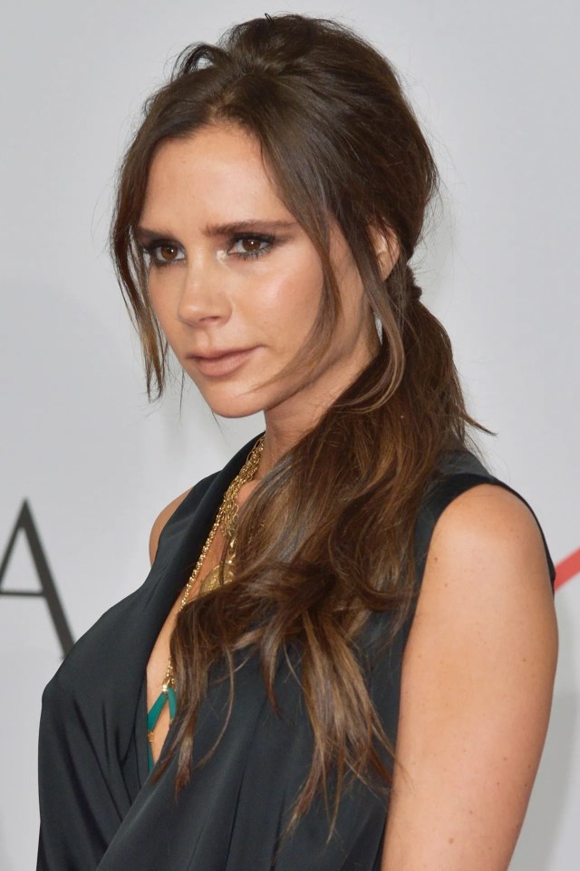 victoria beckham hair and hairstyles 1997-2018 | british vogue