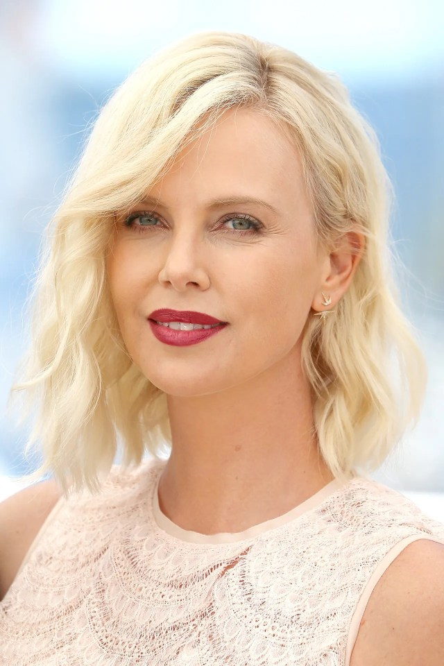 charlize theron red carpet hair and hairstyles | british vogue