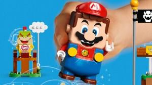 在马里奥公园开放之前玩! 乐高首次与超级马里奥合作,推出带有蘑菇王国的电动积木模型 乐高积木台湾时尚