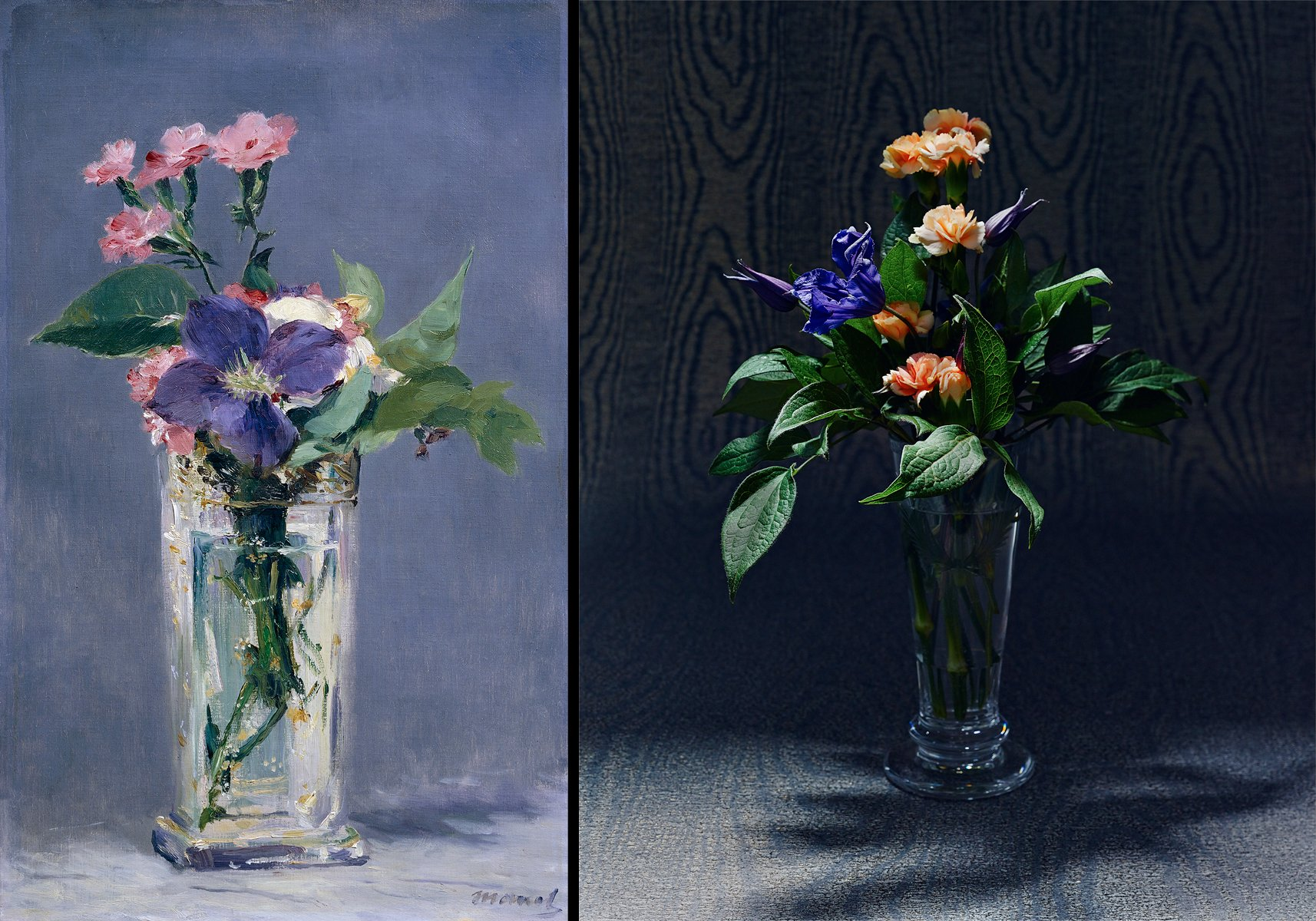 Still Life Flower Arrangements Inspired By Famous