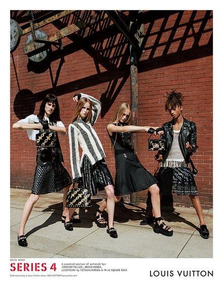 Louis Vuitton S/S campaign