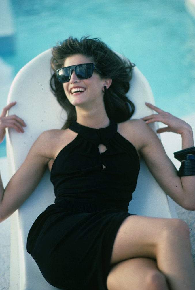 Stephanie Seymour S Best In Moments In Vogue Vogue