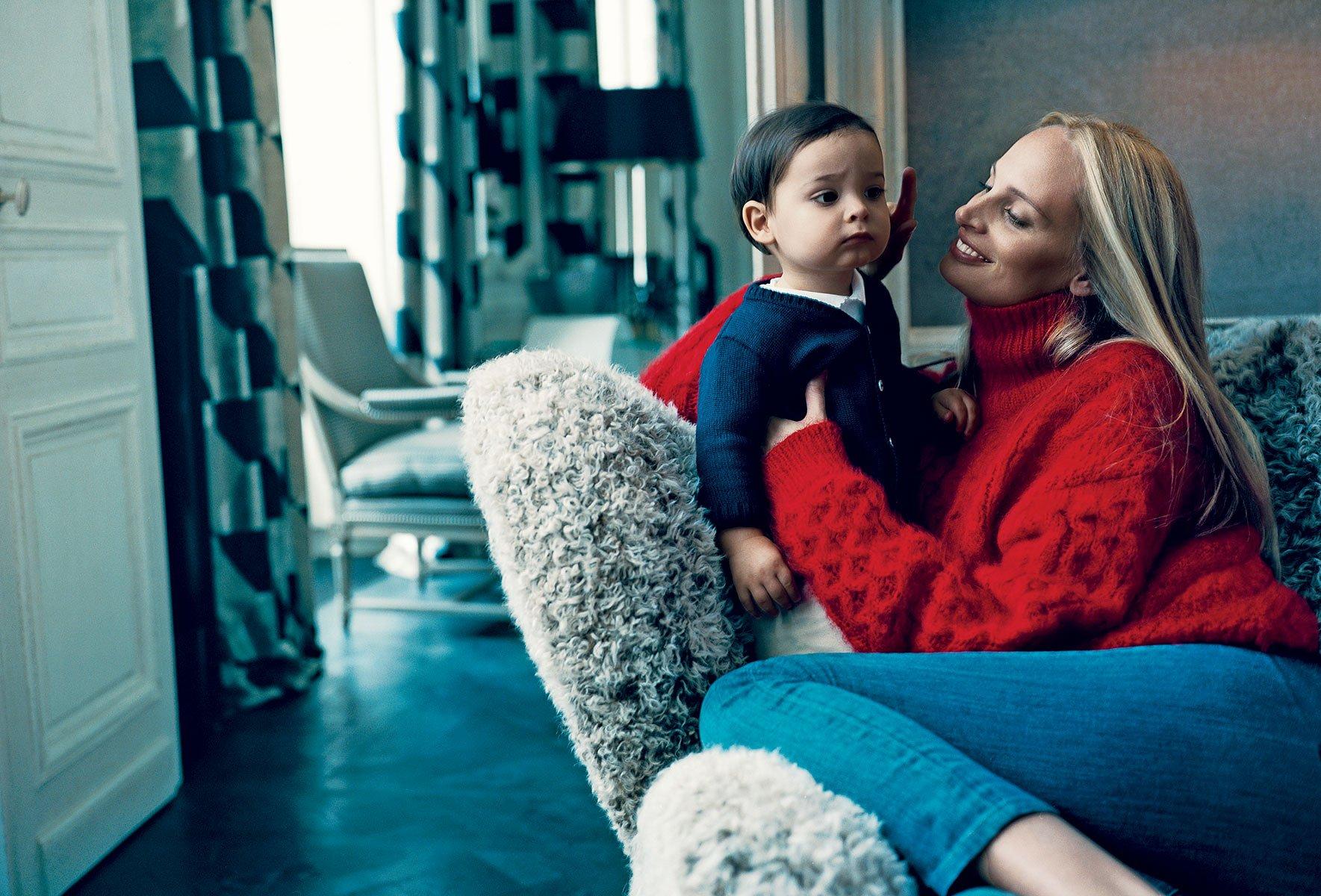 Inside Lauren Santo Domingos Paris Apartment Vogue