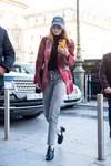 Mango Gigi Hadid-Boots-Plaid Shirt-Paros