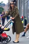 Mango-Irina Shayk-Burberry-Trench-Coat