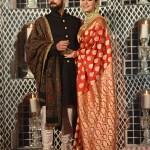 If You Love Red Anushka Sharma S Benarasi Sabyasachi Sari Is A Must Have Bridal Look Vogue India