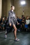 Crocs fashion trend catwalk Christopher Kane