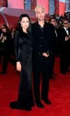 Angelina and her brother Oscar 2000 dress gothic