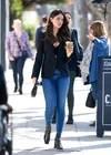 Eiza Gonzalez with skinny jeans .
