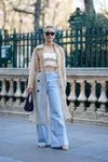Cuffed Jeans with top