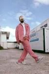 j balvin shirt and jeans pink