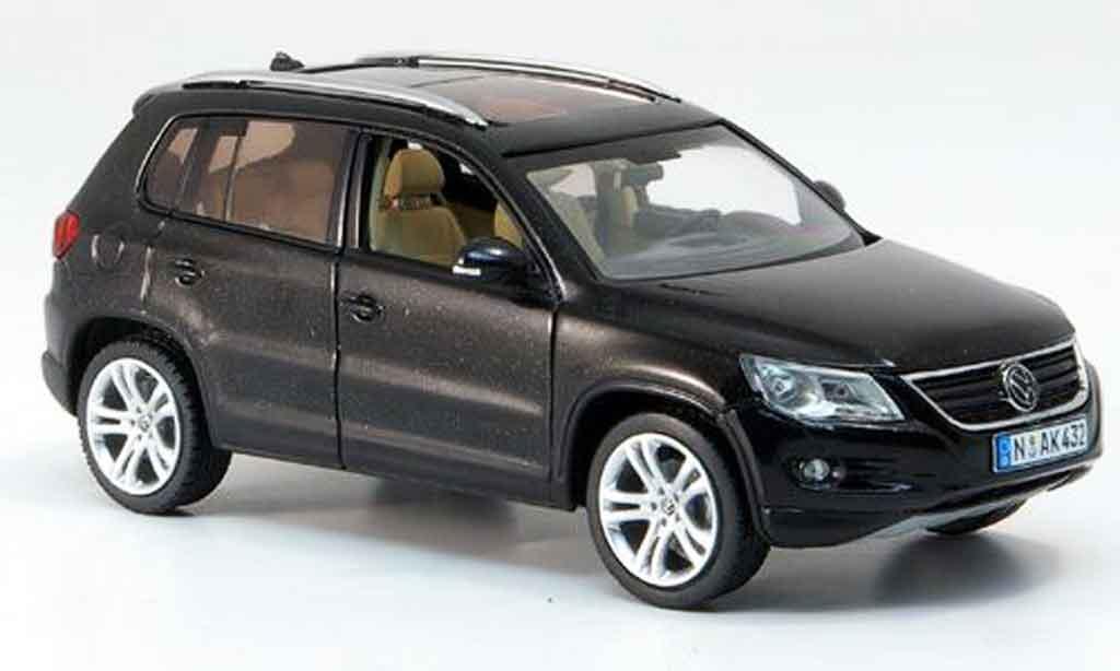 Volkswagen Tiguan Black Schuco Diecast Model Car 143