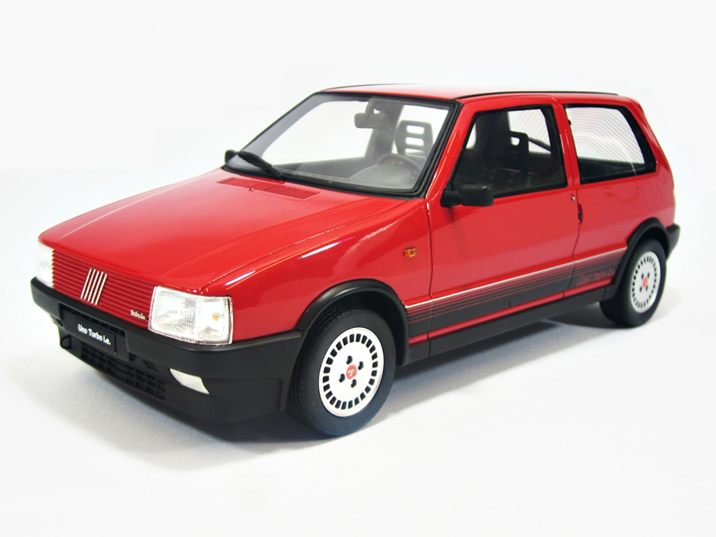 Fiat Uno Turbo Ie LM088 Red 1987 Laudoracing Models