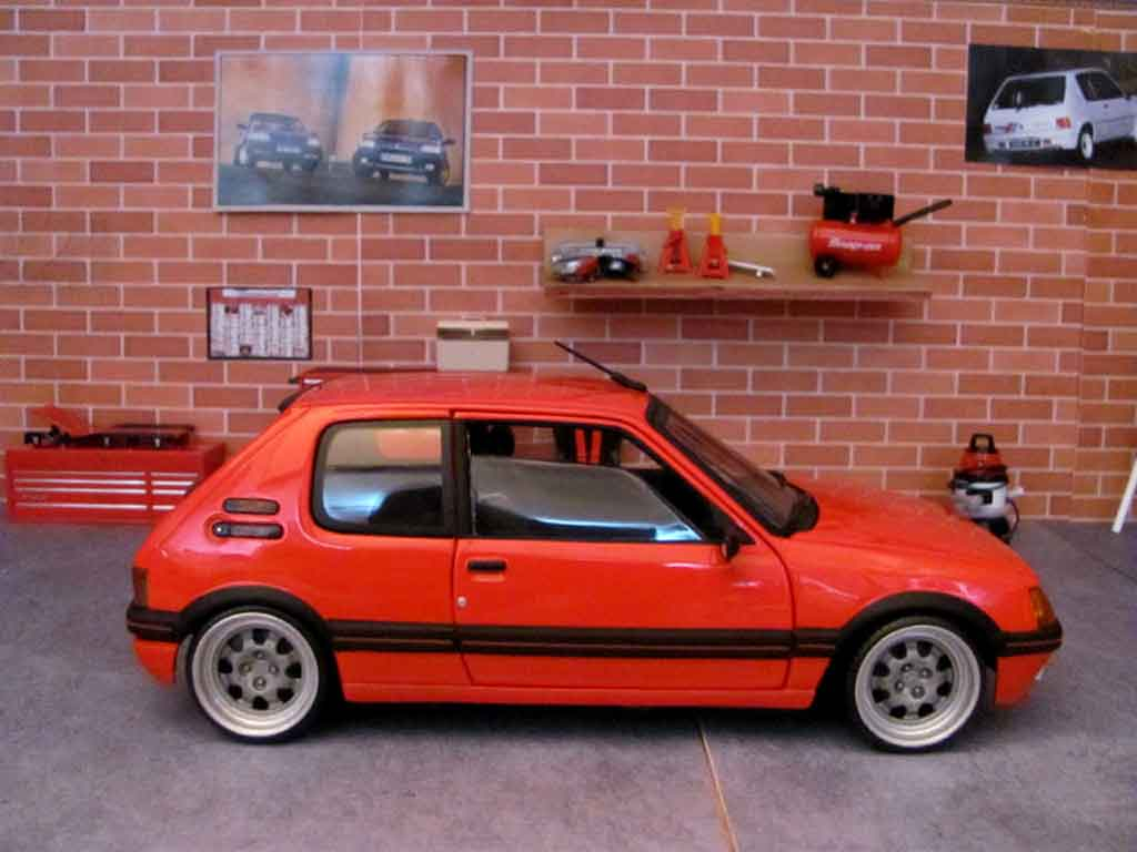 Peugeot 205 GTI 19 Rouge Vallelunga Wheels Big Offset