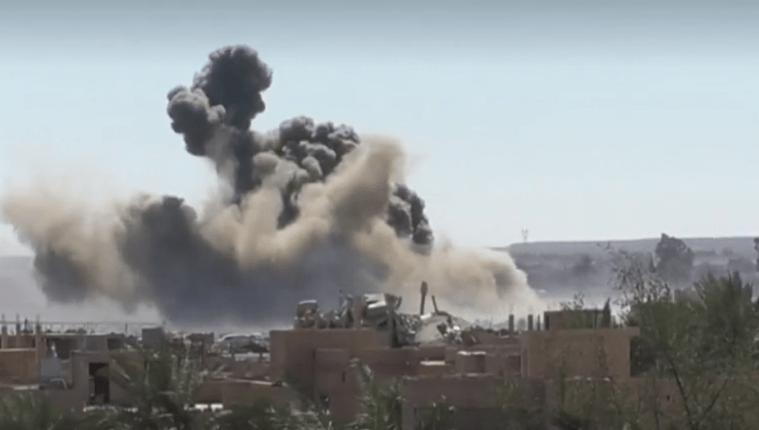 غارة على مواقع إيرانية في سوريا
