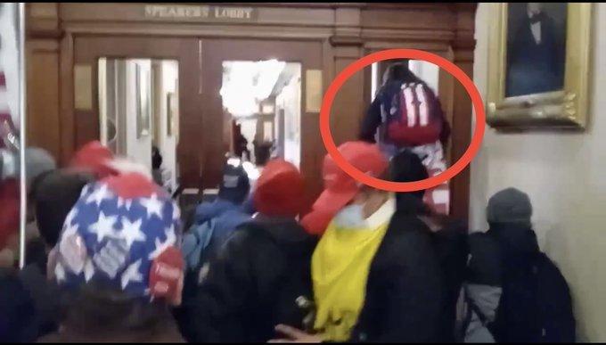 صورة من فيديو متداول للحظة مقتل آشلي