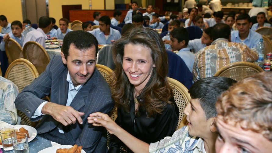 خلال شهري أكتوبر ونوفمبر الماضيين، ظهرت أسماء الأسد إعلاميا أكثر من سبع مرات