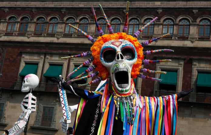 Mexico Marks Day of Dead on 500th Anniversary of Conquest