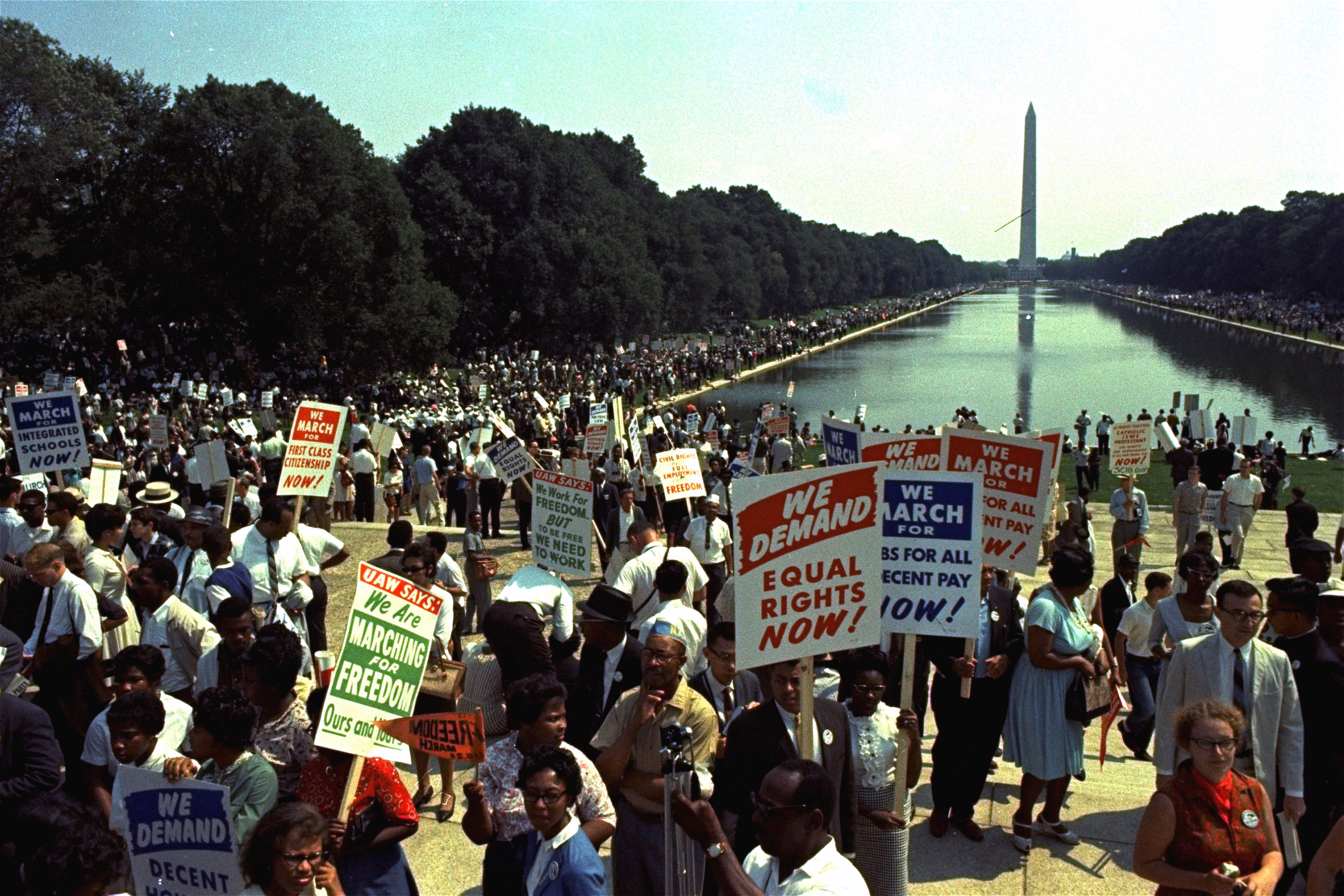 Photo of Key protest movements over the decades