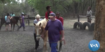 Horses Aid in Therapy for Children With Disabilities in Zimbabwe